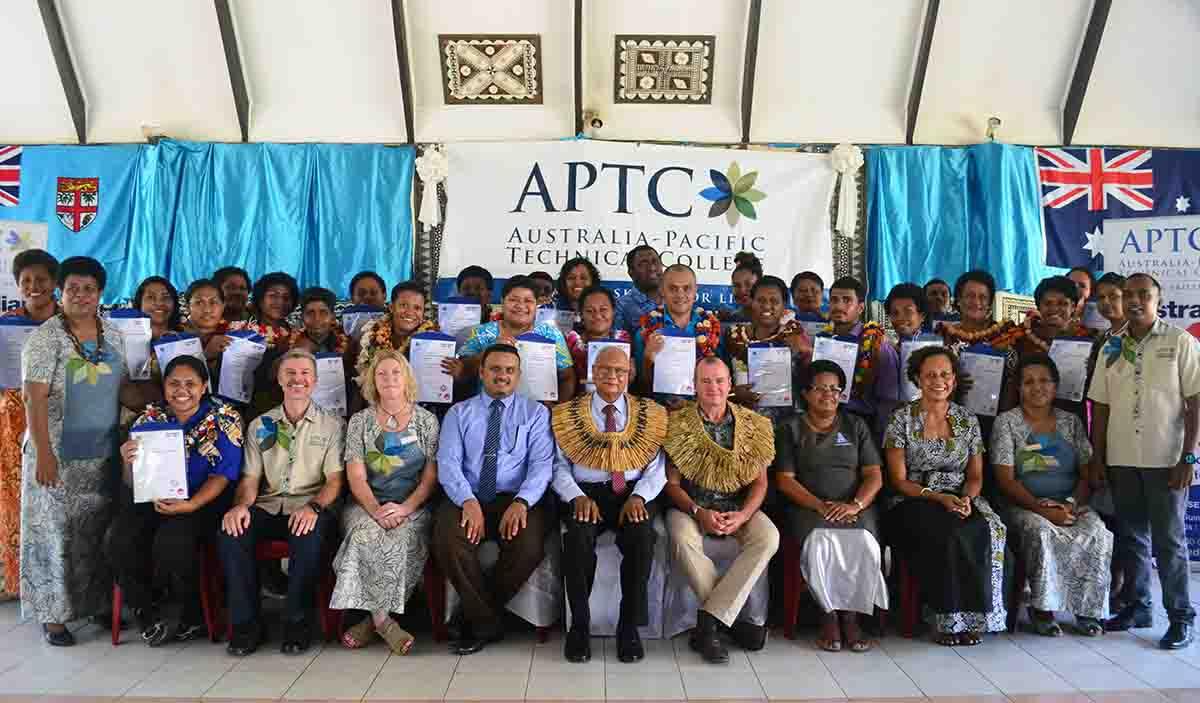APTC Labasa Graduation official group photo.