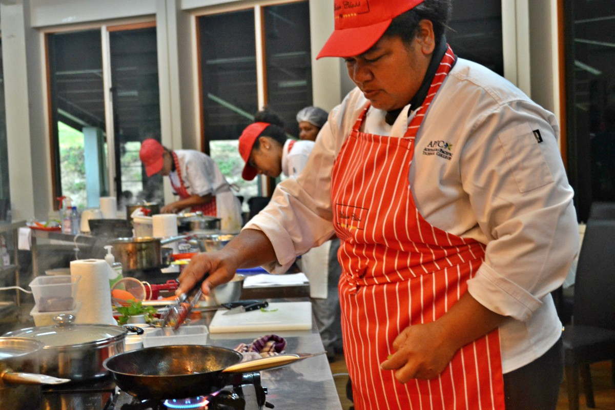 APTC trainer shines in Fiji's culinary competition