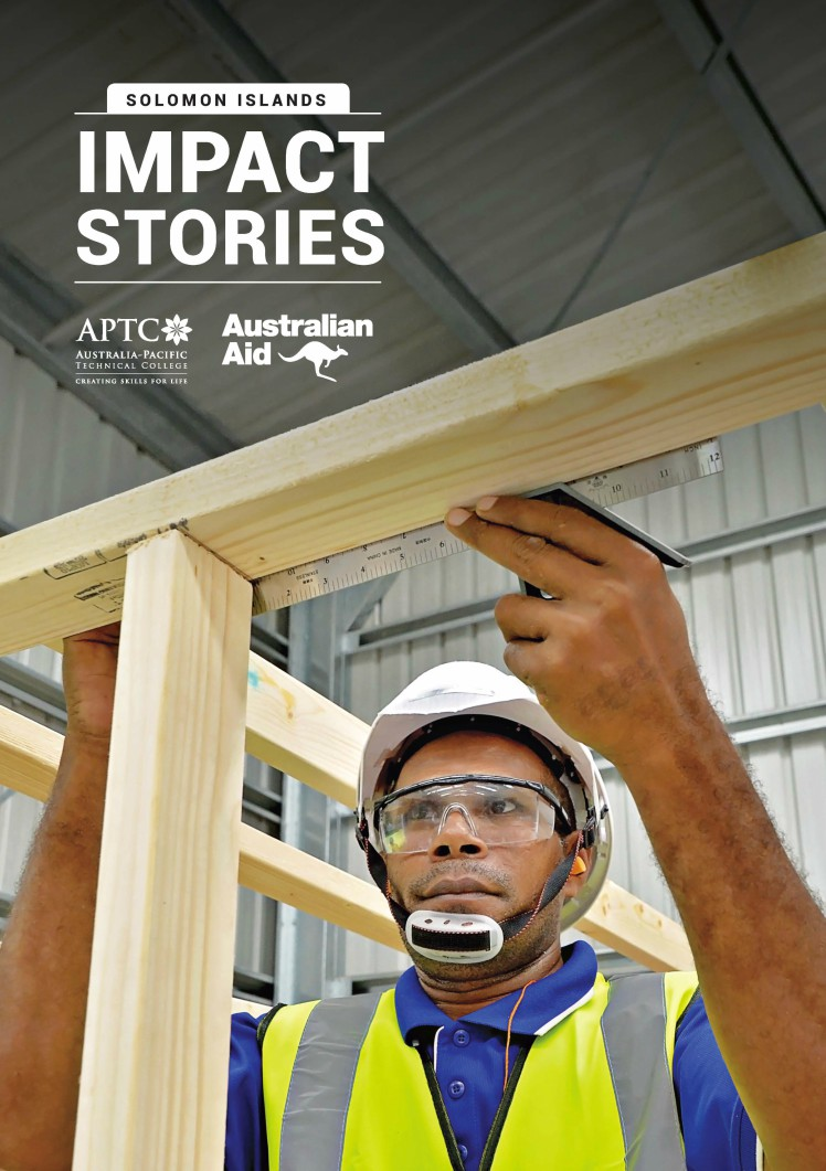 APTC Solomon Islands - Impact Stories