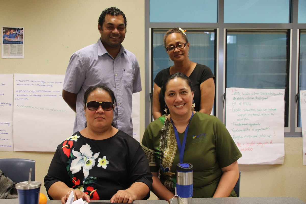 APTC and NOLA collaborate for skills development and disability rights in Samoa