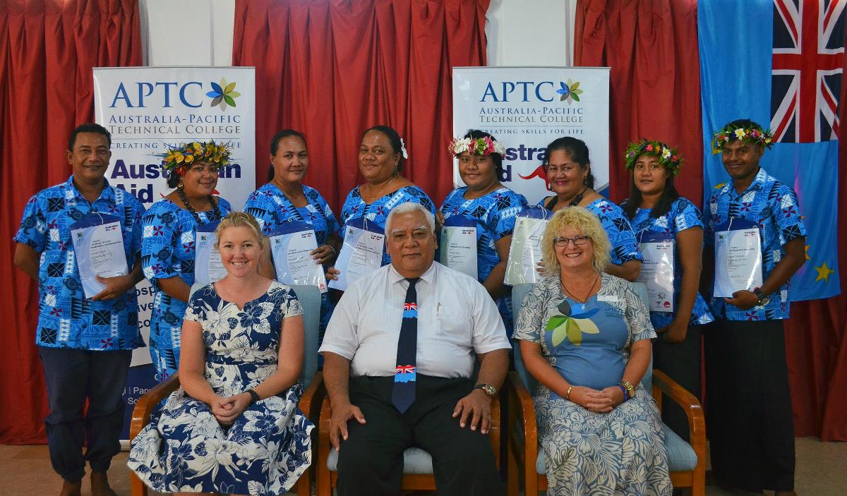 Tuvalu Graduation