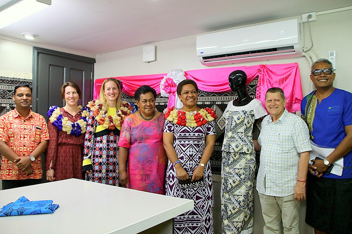 Fiji fashion designers to access production opportunities through Incubation Centre