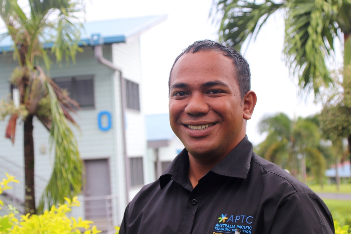 Mathew overcomes disability barriers to boost career with APTC training