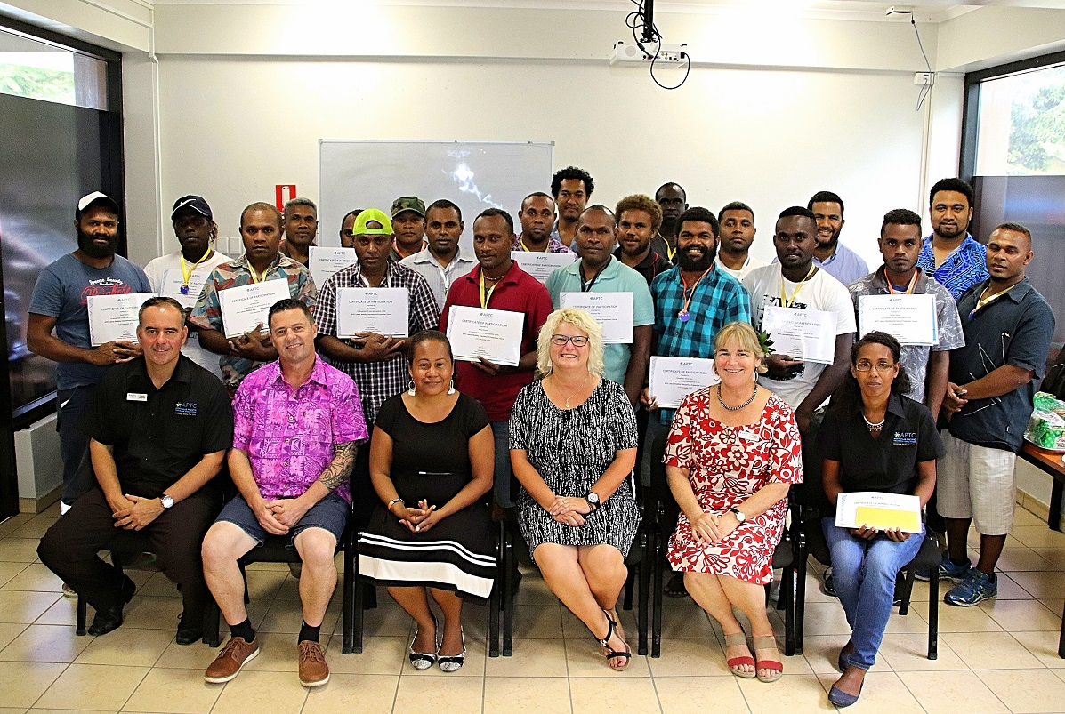 Nineteen Solomon Islanders complete APTC Labour Mobility International Preparation course