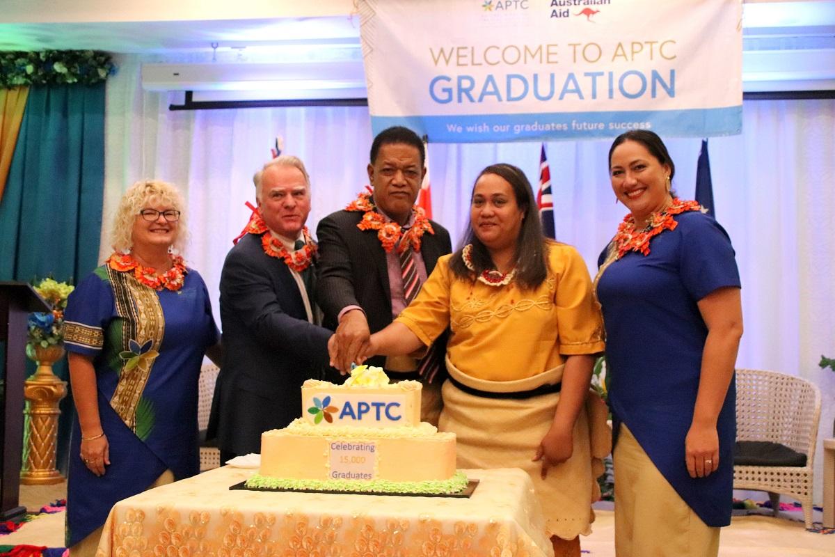 Palepina becomes APTC's 15,000th graduate