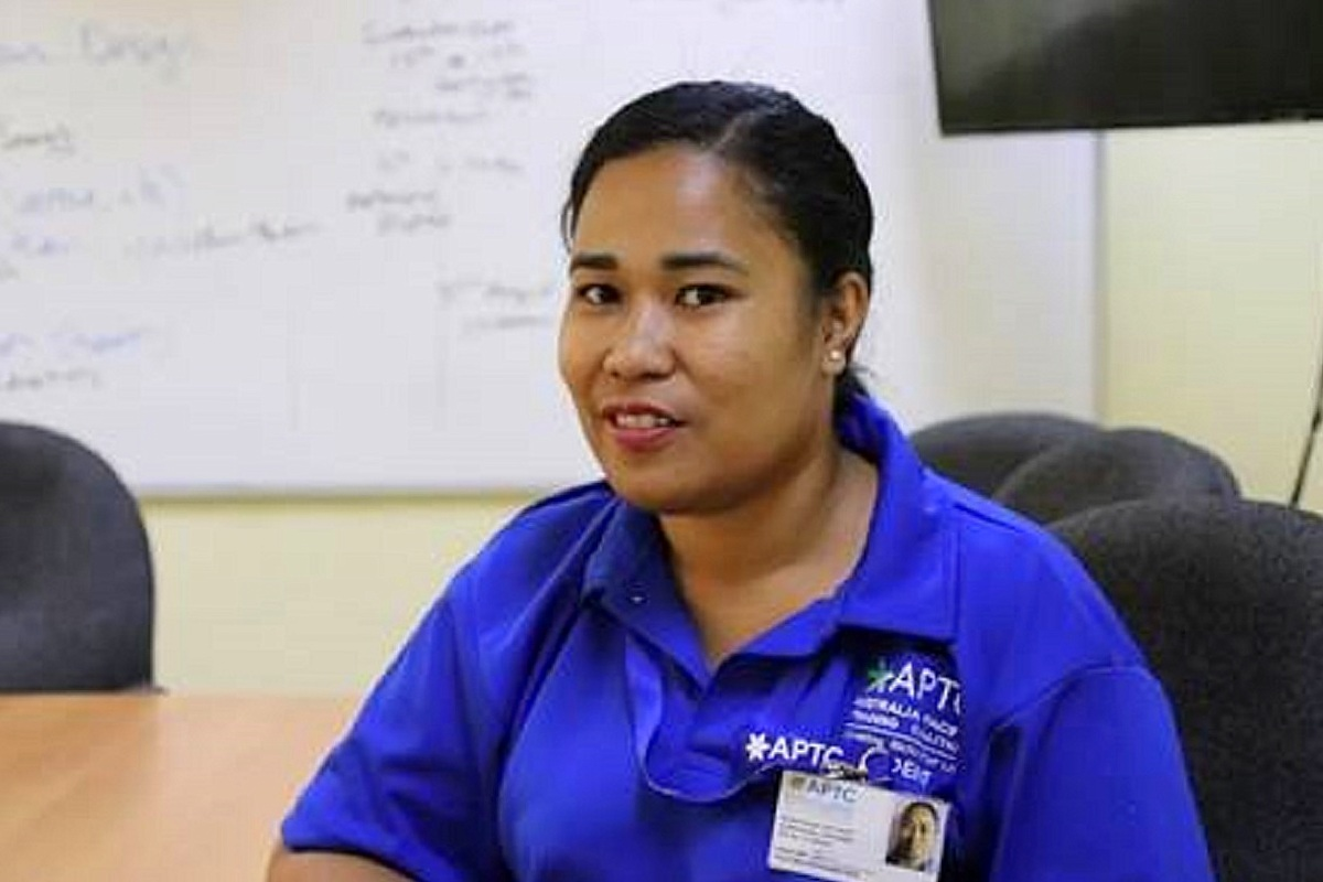 Tongan students pursue their goals with APTC